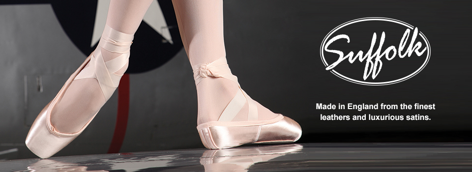Black Suffolk Spotlight Pointe Shoe